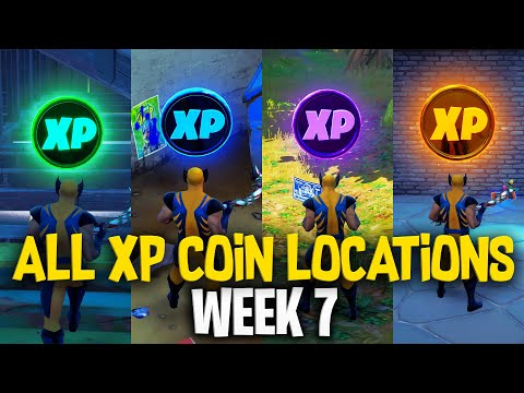 ALL XP COIN LOCATIONS (WEEK 7) | FORTNITE SEASON 4 CHAPTER 2