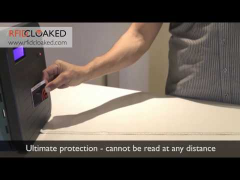 Comparing NFC and RFID blocking cards