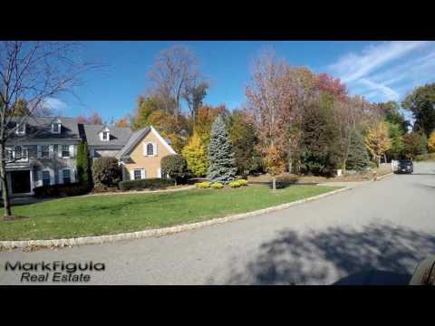 Franklin Lakes Real Estate | 4K Driving Tour of Sleepy Hollow Lane