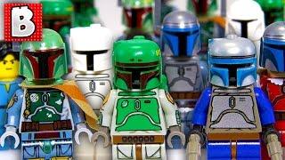 Video Every Lego Boba Fett & Jango Fett Minifigure Ever!!! + Rare Cloud City Boba | Collection Review MP3, 3GP, MP4, WEBM, AVI, FLV Februari 2019