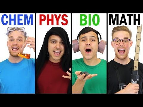 SCIENCE WARS - Acapella Parody (видео)