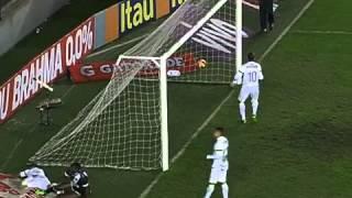 Melhores Momentos Santos 1 x 1 Vasco Campeonato Brasileiro 2013 14/08/13.