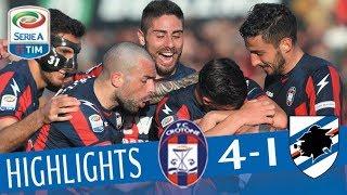 Video Crotone - Sampdoria 4-1- Highlights - Giornata 28 - Serie A TIM 2017/18 MP3, 3GP, MP4, WEBM, AVI, FLV Juni 2018
