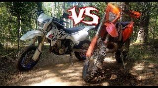 10. Which Bike is Better? Suzuki DRZ400 VS KTM 300
