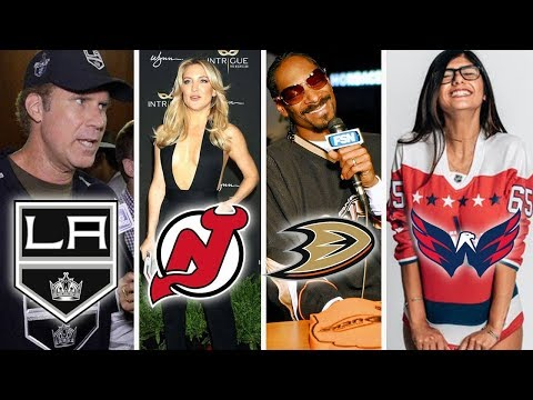 The Biggest Celebrity Fan From All 31 NHL Teams