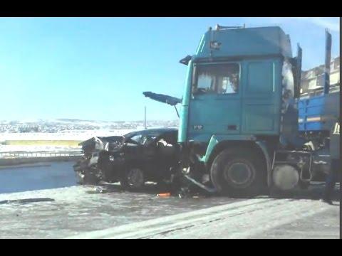 Жесткие последствия зимних аварий 2017