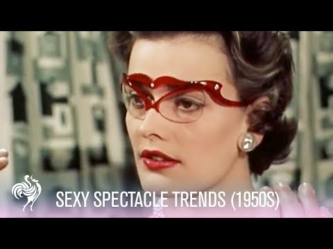 1950s Glasses Fashions - Sexy Spectacle Trends! (1950s)
