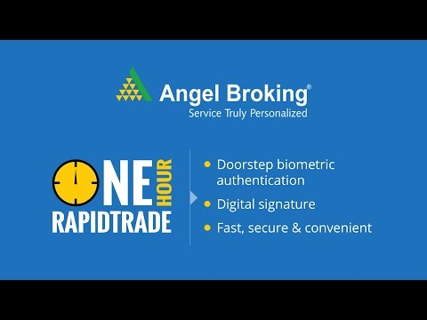 Angel broking explains how to start trading in 1 hour.