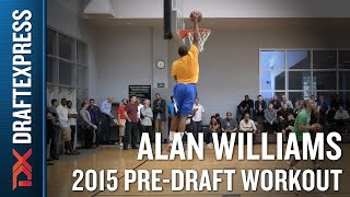 Alan Williams 2015 NBA Draft Workout Video