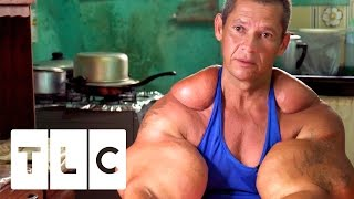 Video Bodybuilders Inject Muscles With Oil | Real Life Hulks MP3, 3GP, MP4, WEBM, AVI, FLV Januari 2019