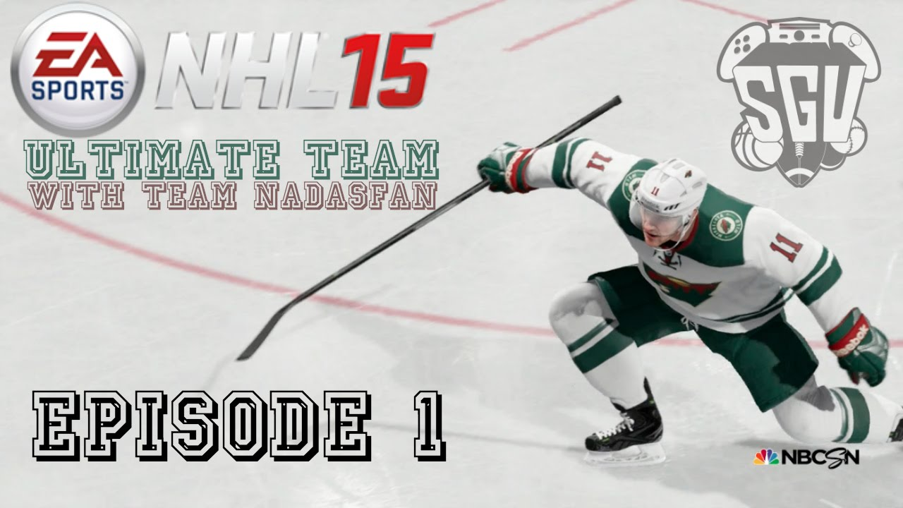 NHL 15 (Xbox One): Hockey Ultimate Team with Team Nadasfan – EP1