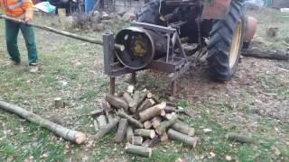 Rębak do drewna Hitem Internetu! Z cyklu Polak potrafi