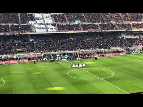 Inter Udinese 1-3 • Ingresso delle squadre • 16/12/2017
