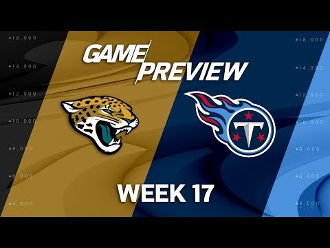 Video: Jacksonville Jaguars vs. Tennessee Titans | NFL Week 17 Game Preview | Move the Sticks