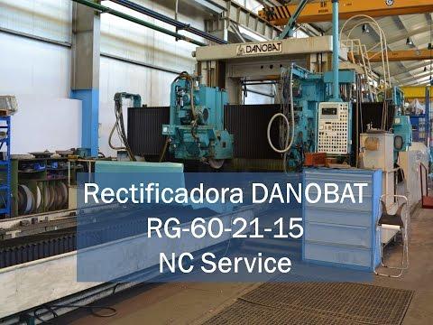Szlifierka do płaszczyzn DANOBAT RG 60-21-15 1988
