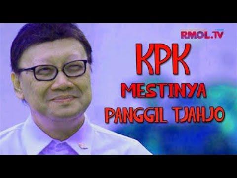 KPK Mestinya Panggil Tjahjo