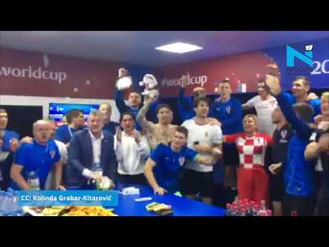 Must Watch! Croatia President's victory dance at FIFA World Cup