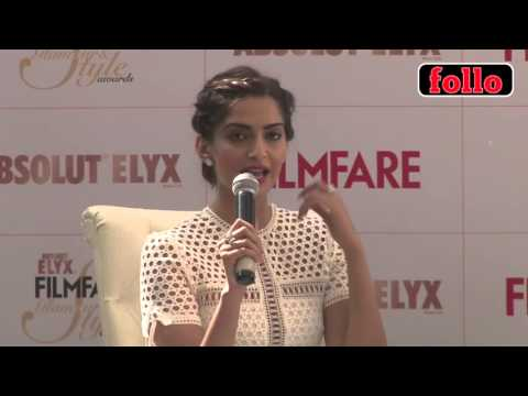 Sonam Talks About Her Style Icons!