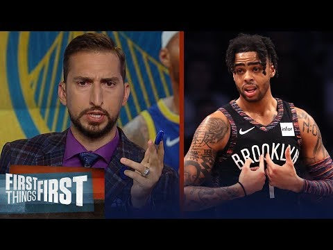 Nick Wright talks Warriors plan for D'Angelo Russell, Boogie's future   NBA   FIRST THINGS FIRST