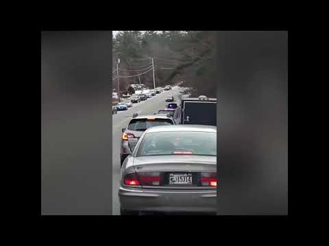 Police Spike Strip Causes Accident