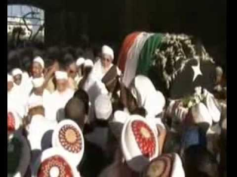 The funeral procession of Dr Syedna Mohammed Burhanuddin ( 18 Jan 2014