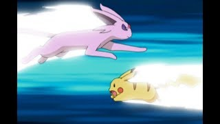 Pikachu vs. Espeon! | Pokémon: Battle Frontier by The Official Pokémon Channel