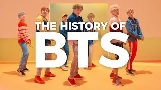 Video THE HISTORY OF BTS MP3, 3GP, MP4, WEBM, AVI, FLV September 2019