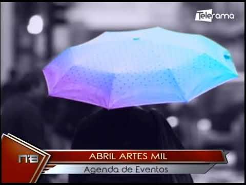 Abril Artes Mil agenda de eventos