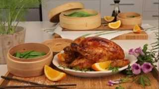 Orange and Soy Roast Chicken