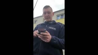 500zł mandatu za bieganie – cwaniak milicjant i wyrywanie telefonu