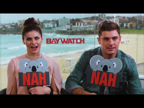 Video YEAH or NAH with Zac Efron & Alexandra Daddario from Baywatch download in MP3, 3GP, MP4, WEBM, AVI, FLV January 2017