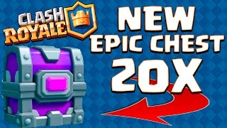 NEW ''EPIC CHEST'' ARENA 10 OPENING! :: Clash Royale :: WORLD RECORD ATTEMPT ON CLAN CHEST!