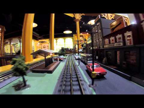 Railtown Loop on O Gauge Layout, NTTM (видео)