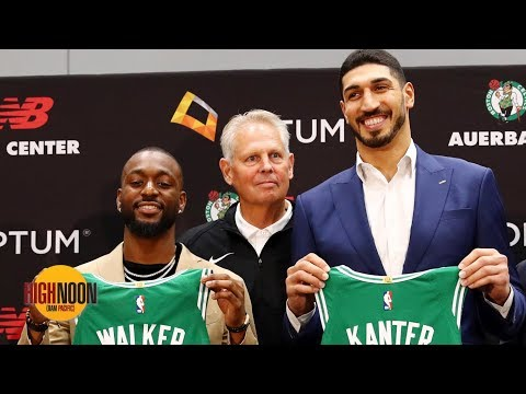 Video: Were Kemba Walker and Enes Kanter really the Celtics' Plan A in free agency? | High Noon