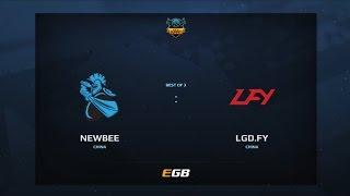 Newbee vs LGD.FY, Game 1, Dota Summit 7, CN Qualifier