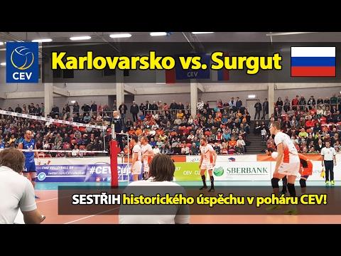 VOLEJBALOVÁ SENZACE: Karlovarsko vs. Surgut 3:0