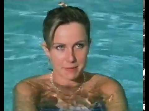 Sarah Greene in the Swimming Pool