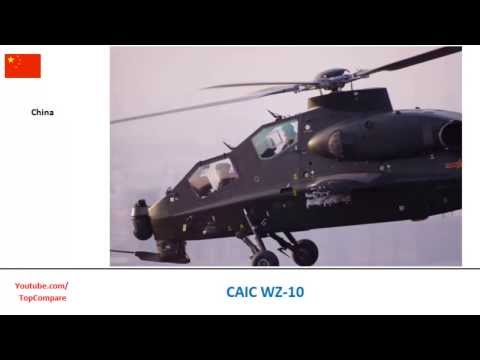 CAIC WZ-10 vs Denel Rooivalk, Helicopter...