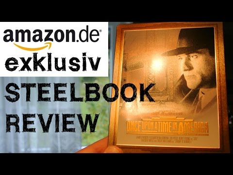 ES WAR EINMAL IN AMERIKA Steelbook Blu-Ray Amazon Exklusiv Leone Once Upon A Time In America