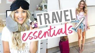 Video MY TRAVEL ESSENTIALS | How I Sleep on OVERNIGHT Flights! MP3, 3GP, MP4, WEBM, AVI, FLV Juli 2018