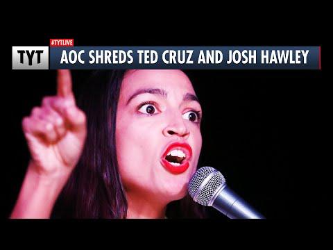 AOC: EXPEL Senators Josh Hawley and Ted Cruz