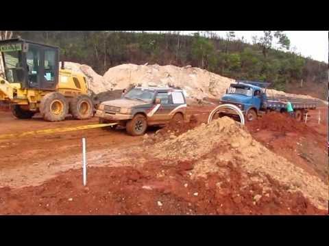 Puxando caminhão em Morro do Pilar - 2° parte