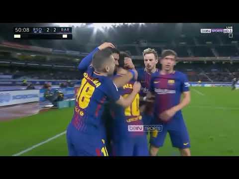 Real Sociedad vs Barcelona (2 4)