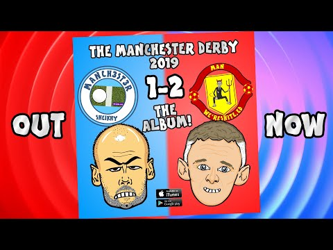 💿MAN CITY vs MAN UTD 1-2: The Album Advert!💿 (Parody Goals Highlights Rashford Martial 2019)
