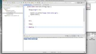 OO Programming In Java - Lecture 4 (1/19/13)
