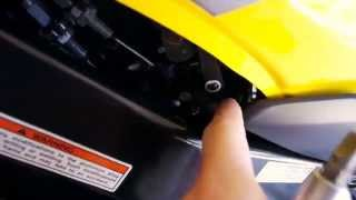 9. Quick How to Adjust Your Idle - 2005 Suzuki Gsxr 750 600 K5