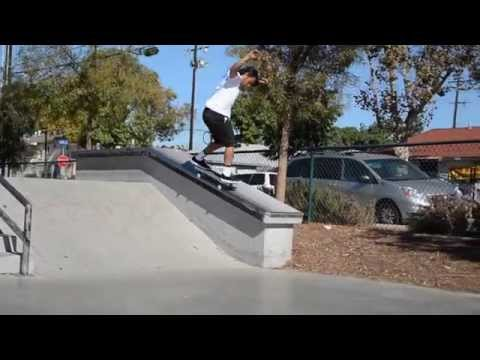 David Gonzalez sesion Skatepark Long Beach
