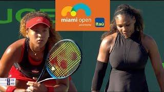 Video Williams vs Osaka Full Highlights / Miami Open 2018 / Round of 128 MP3, 3GP, MP4, WEBM, AVI, FLV September 2018