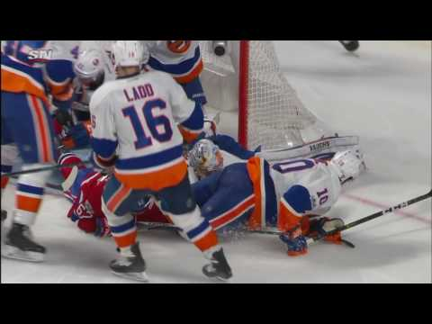 Video: New York Islanders vs Montreal Canadiens | NHL | 23-FEB-2017