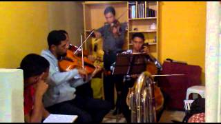 NOVO HINO CCB 375 HAJA PAZ ( Quarteto De Cordas CCB )